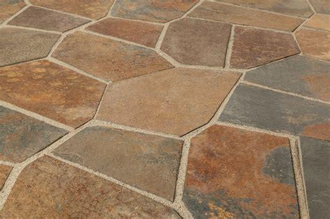 slate tile mesh back multi color flag angle