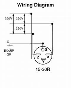 leviton 8430 30 amp 250 volt nema 15 30r 3p 4w flush With 30 amp wiring
