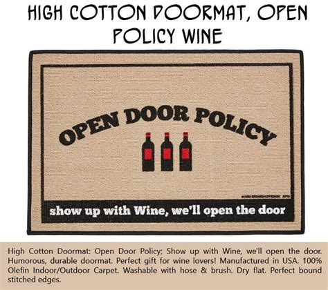 high cotton doormats top ten products of the month for wine