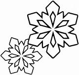 Snowflake Printable Pages Colouring Coloring Preschool Snowflakes Crafts Kindergarten Worksheets Comment sketch template