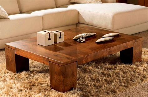Coffee Tables : Solid Wood Coffee Table Design Images Photos Pictures