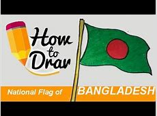 how to draw National Flag of Bangladesh step by step YouTube