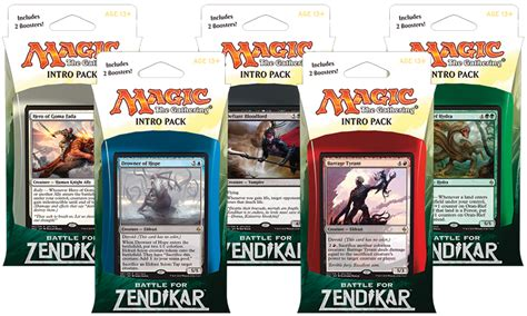 battle for zendikar packaging magic the gathering