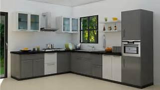 Moduler Kitchen Design by L Shaped Modular Kitchen Designs
