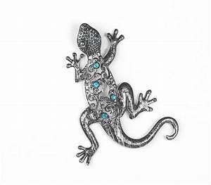 Blech Bild Schmetterling Gecko Libelle Seepferdchen Wand