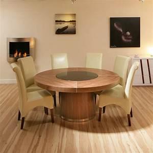 Esstisch Stühle Beige : runder esstisch das bedeutet mehr platz f r alle ~ Frokenaadalensverden.com Haus und Dekorationen