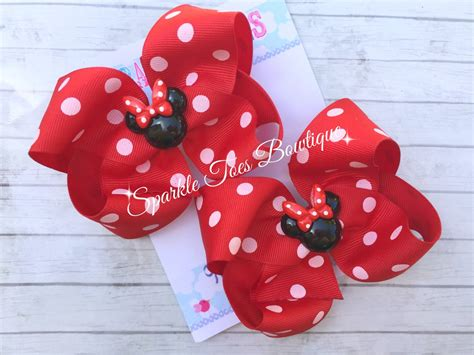 Minnie Mouse Bow Minnie Party Minnie Mouse Birthday 1st