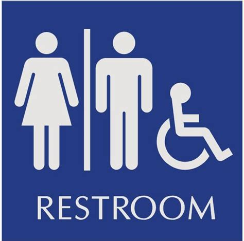 printable bathroom signs printable signs handicapped restroom just b cause