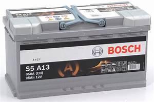 Batterie Bmw 320d : agm start stop bosch s5a13 95ah ~ Gottalentnigeria.com Avis de Voitures