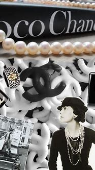 Chanel collage (With images) | Coco chanel mademoiselle ...