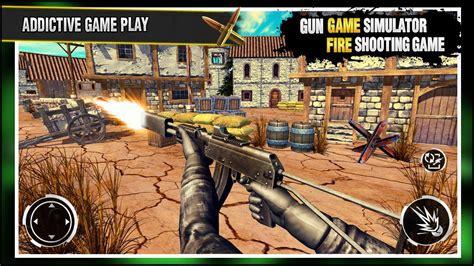 juegos de disparos  pistola juego de guerra