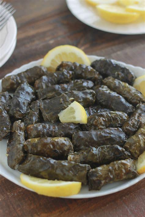 recettes cuisine libanaise feuilles de blettes farcies à la viande recette libanaise