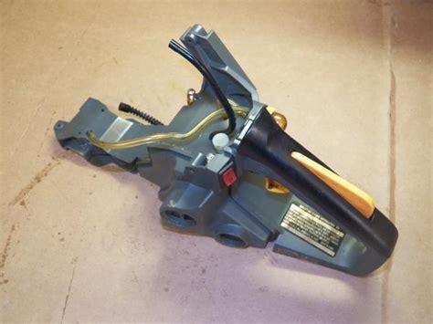 ryobi cc chainsaw fuel tank trigger handle chainsawr