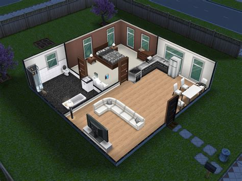small  simple sims freeplay house sims sims