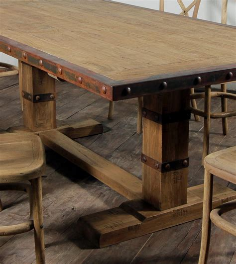 distressed dining table cool distressed white kitchen