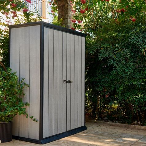 Armoire De Jardin En Resine by Armoire De Jardin R 233 Sine Keter Brossium L139 5 H181 5 Cm
