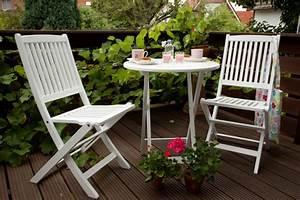 balkonset weiss lackiert akazienholzedelstahlbeschlage With whirlpool garten mit klapptisch weiß balkon