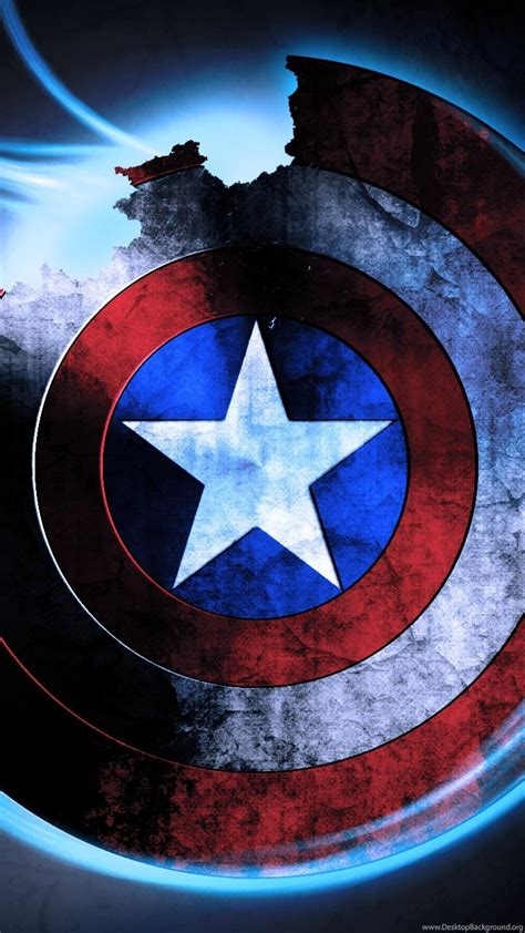 captain america shield wallpapers desktop background