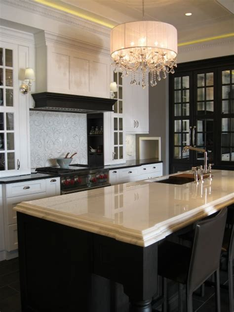 tray ceiling kitchen transitional kitchen airoom