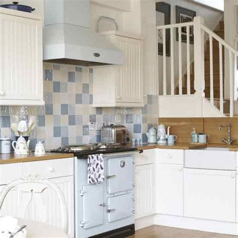 blue and white tiles kitchen new home interior design country kitchens 7933