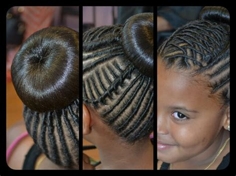 African American Braided Hairstyles For Kids