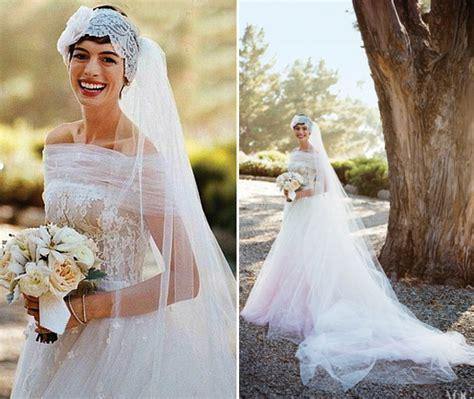 Celebrity Wedding Dresses (Photos)