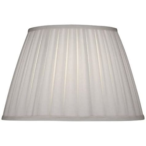 stiffel pleated l shades stiffel ivory shadow box pleat empire shade 11x18x12
