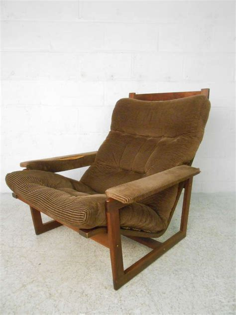 modern chair and ottoman mid century modern chair and ottoman set for sale at 1stdibs