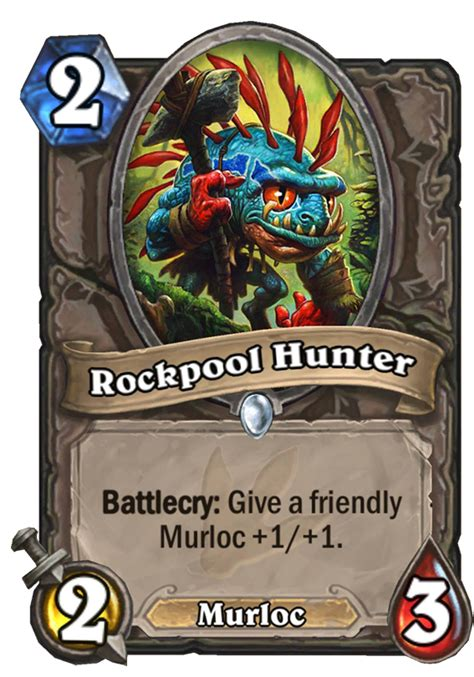 rockpool hunter hearthstone card