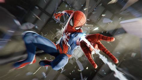 marvels avengers spider man coming  ps  ps