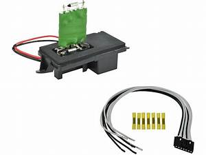 Hvac Blower Motor Resistor Kit For 2007 Chevy Silverado
