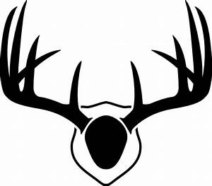 Mounted Deer Antlers Clip Art at Clker.com - vector clip ...