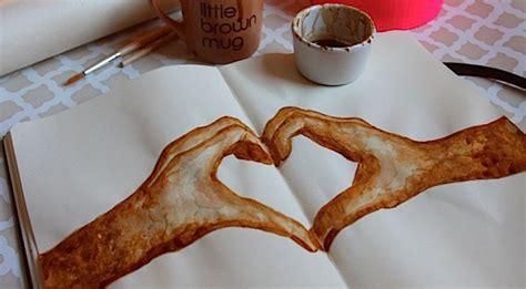 Kunst aus Kaffee von Honey   KlonBlog