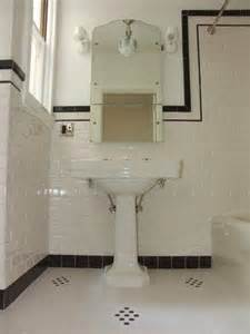 1940s bathroom design subway tile 1940 39 s bathroom bathroom ideas vintage style style and black trim
