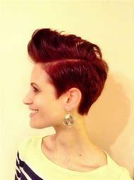 Women Pompadour Short Hair