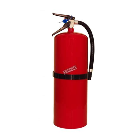 fire extinguisher  lbs type abc ulc  bc
