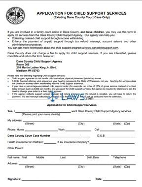 social security name change form florida form application for child support services wisconsin
