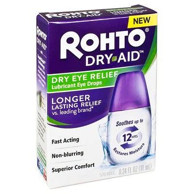 rohto dry aid dry eye relief eye drops  fl oz target