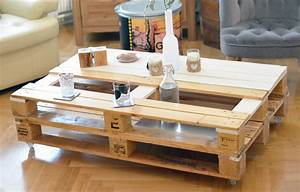 Meuble De Rangement Salon : exceptionnel grand meuble de rangement salon 7 table basse en bois de palettes double support ~ Teatrodelosmanantiales.com Idées de Décoration