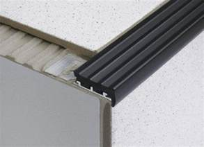 tile in heavy duty anti slip stair edge nosing for tiles