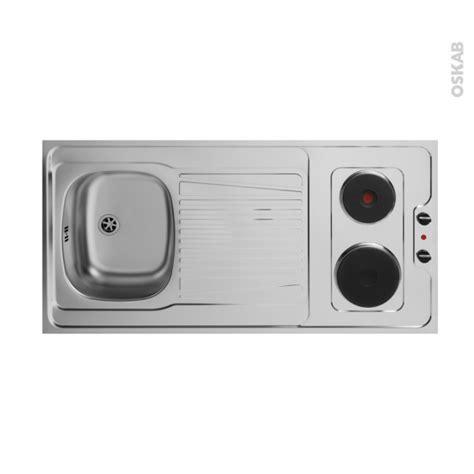 bloc cuisine evier frigo plaque bloc évier pour kitchenette plaque de cuisson électrique