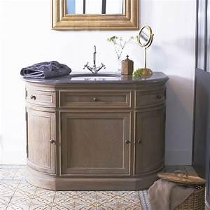 Meuble Simple Vasque Meubles Salle De Bain En Chene