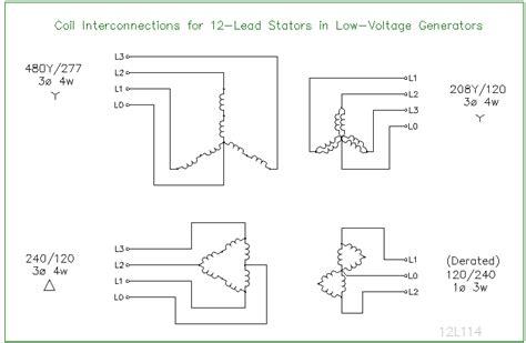 12 lead stator generators schematics ecn electrical forums