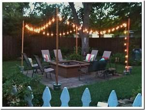 Diy outdoor patio string lights landscape lighting guru