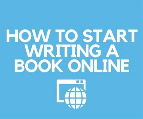 How To Start Writing A Book Online Write A Book Online
