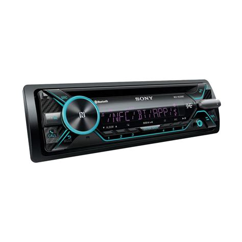 sony mex n5200bt sony mex n5200bt bluetooth car stereo system with front