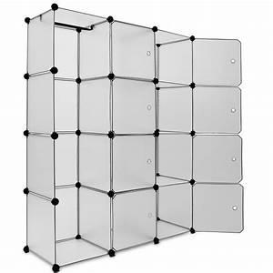 Regale Metall Stecksystem : regal kunststoff steckregal boxenregal kleiderschrank garderobe wandregal system ebay ~ Eleganceandgraceweddings.com Haus und Dekorationen