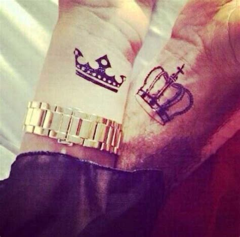 king queen tattoos   instantly