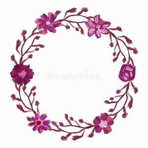round floral frame stock vector image 61309225 With elegant floral wedding invitations vector