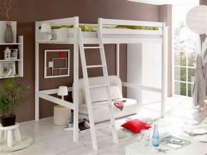 Hochbett 140 X 200 : letto a soppalco matrimoniale 140 x 200 in legno pino massello mobiliarredoline ~ Bigdaddyawards.com Haus und Dekorationen